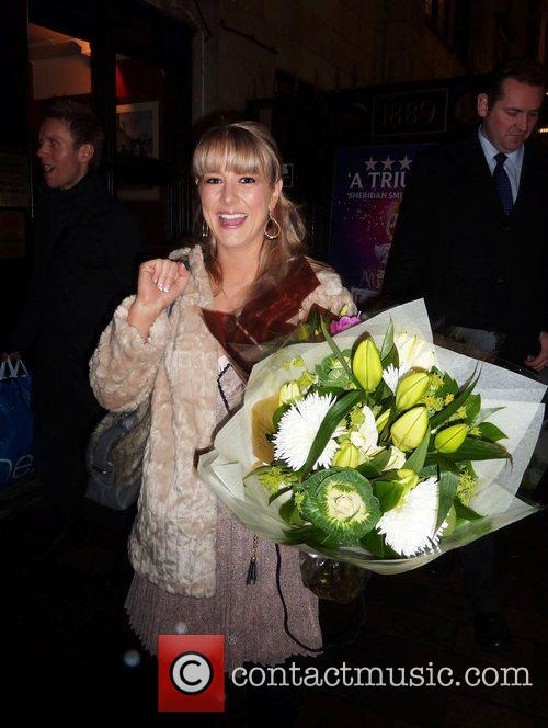 Susan McFadden after her first official performance in...