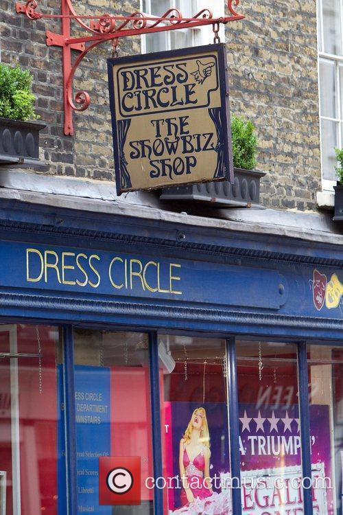General view of Dress Circle in Covent Garden...