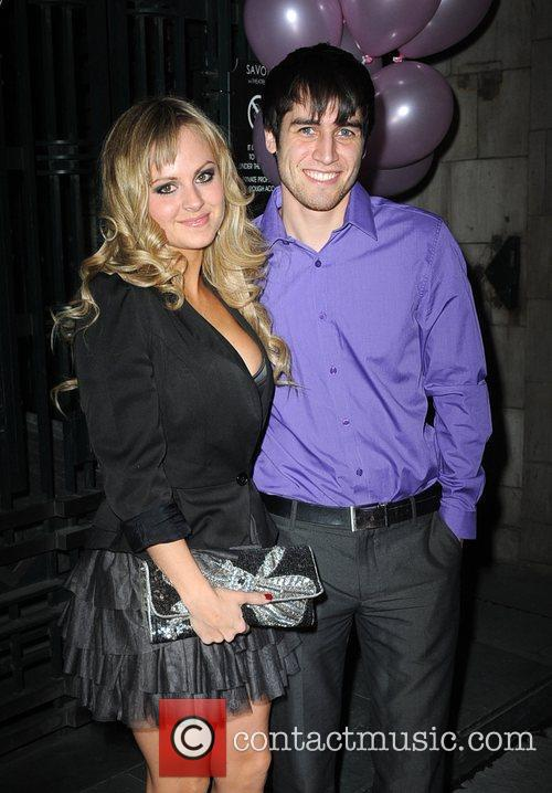 Tina O'Brien and Jared Murillo  arriving for...