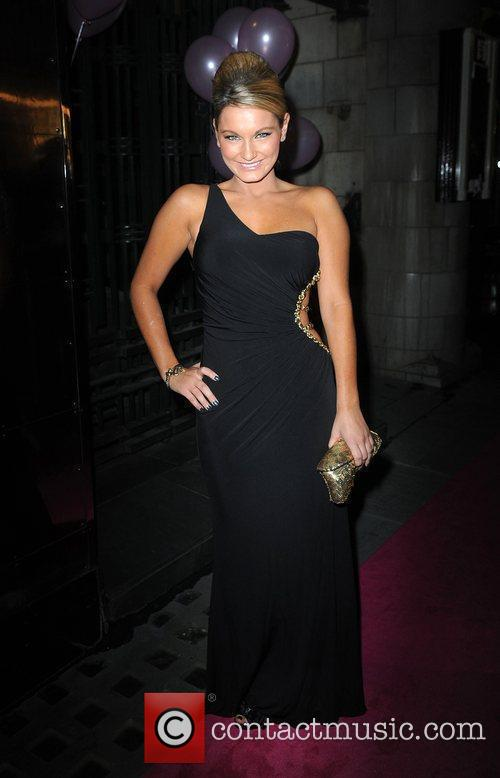 Sam Faiers arriving for the 'Legally Blonde the...