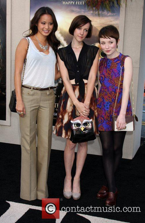 Jamie Chung, Emily Browning and Jena Malone 3