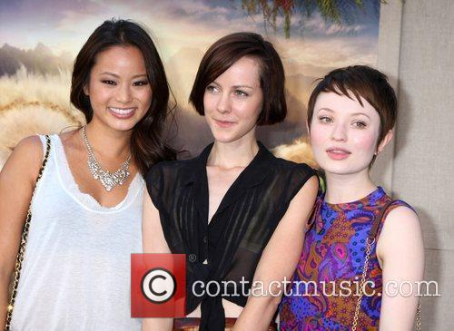 Jamie Chung, Emily Browning and Jena Malone 2