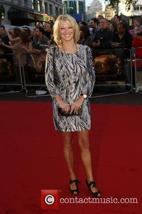 Gillian Taylforth The UK premiere of 'Legend of...