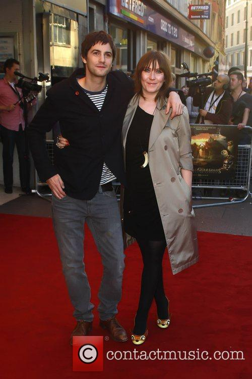 Jim Sturgess and Mickey O'Brien The UK premiere...