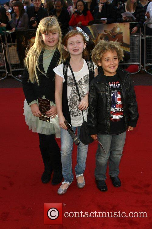 Maisy Smith and Devon Higgs The UK premiere...