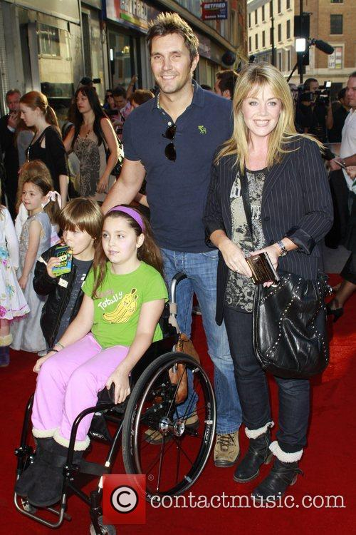 Lucy Alexander and family The UK premiere of...