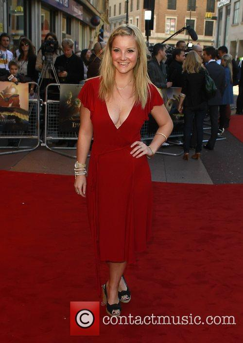 Helen Skelton The UK premiere of 'Legend of...