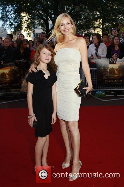 Anneka Tanaka-Svenska and daughter The UK premiere of...