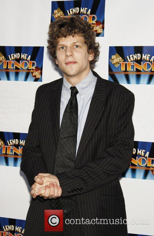 Jesse Eisenberg Attending The Opening Night Of The Broadway Play 'lend Me A Tenor' At The Music Box Theatre. 1