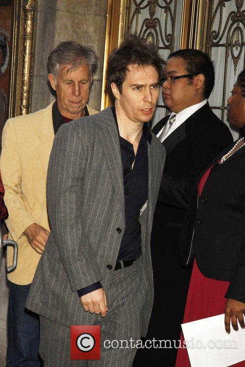 Sam Rockwell attending the opening night of the...