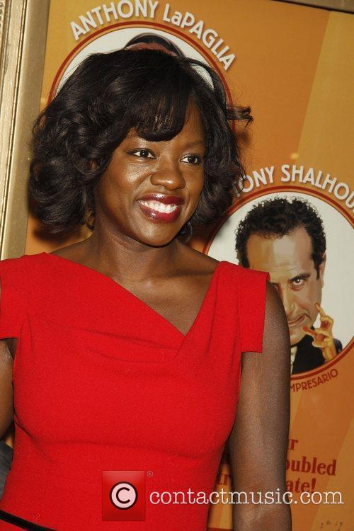 Viola Davis attending the opening night of the...