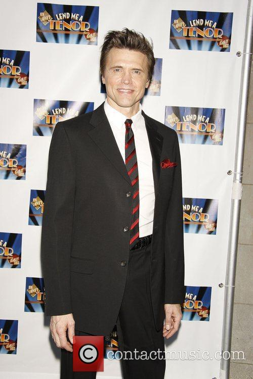 Brent Barrett attending the opening night of the...