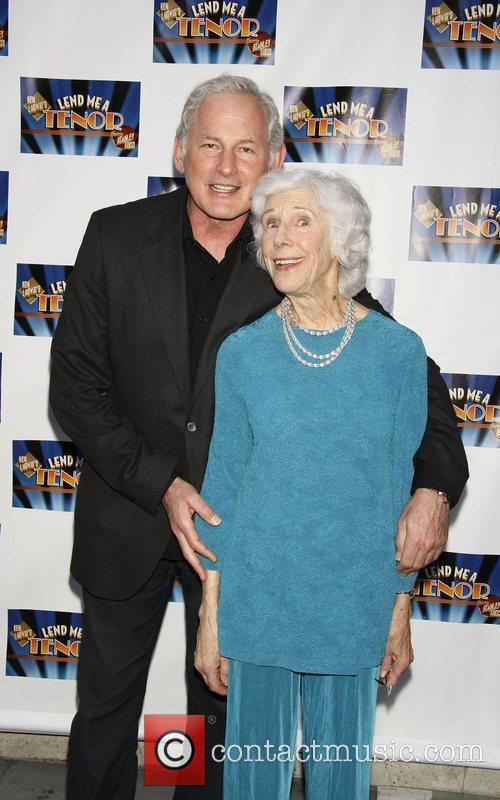 Frances Sternhagen Attending The Opening Night Of The Broadway Play 'lend Me A Tenor' At The Music Box Theatre. 2