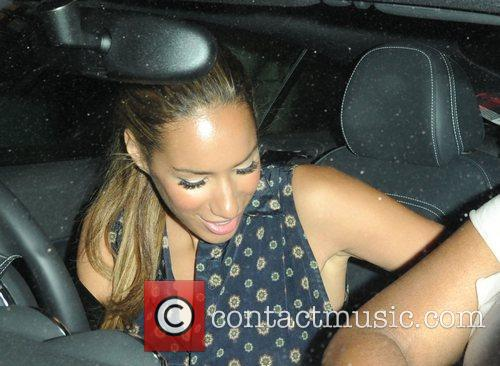 Leona Lewis is seen leaving a special screening...