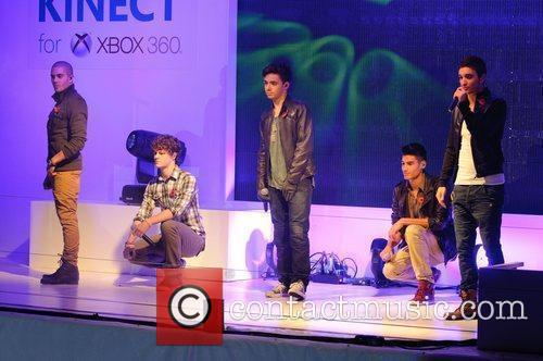 The Wanted perform at the Launch of the...