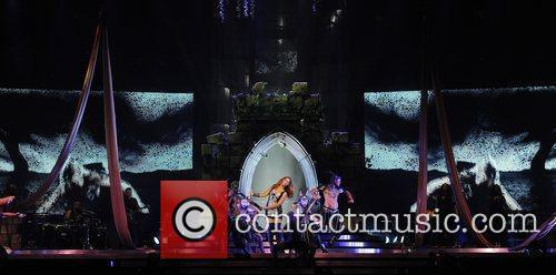 Leona Lewis performing live in concert at the...