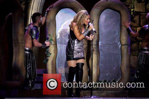 Leona Lewis performing live in concert at LG...