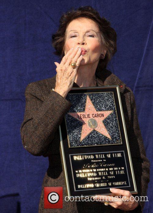 Leslie Caron, Star On The Hollywood Walk Of Fame