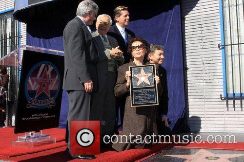 Neal Baer, Jack Larson and Leslie Caron 1