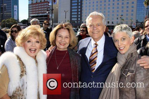 Ruta Lee, Diane Baker, Robert Osborne and Patricia Ward Kelly
