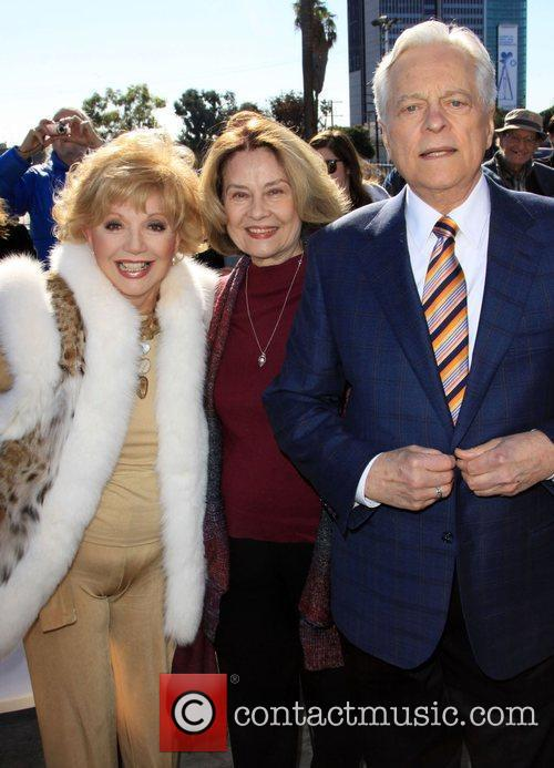 Ruta Lee, Diane Baker and Robert Osborne