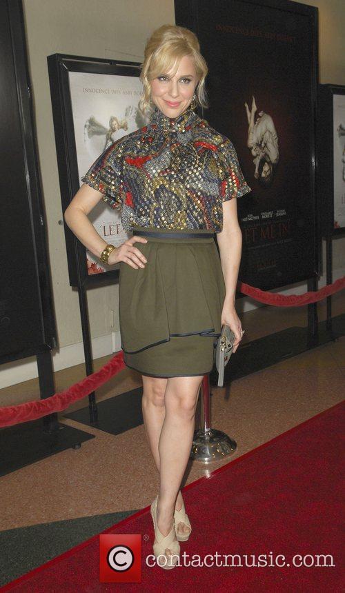 Cara Buono attends the 'Let Me In' LA...