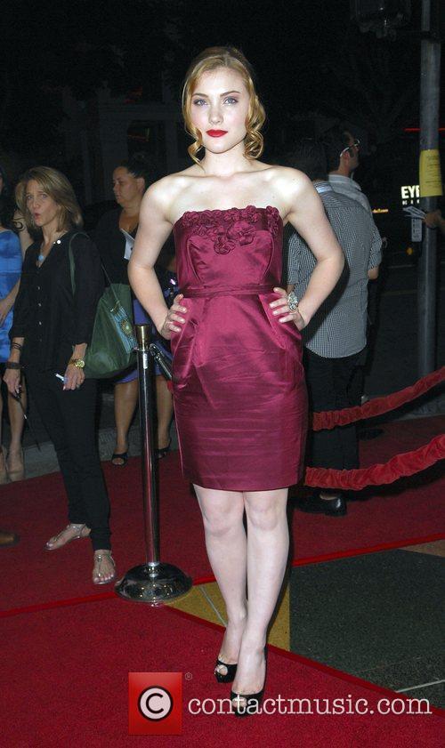 Skyler Samuels attends the 'Let Me In' LA...