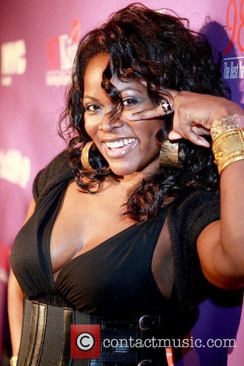 Abiola Abrams Final episode celebration for VH1's 'Let's...