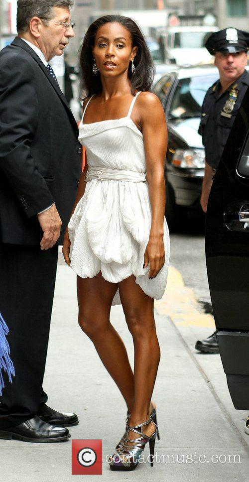 Jada Pinkett-smith and David Letterman 5