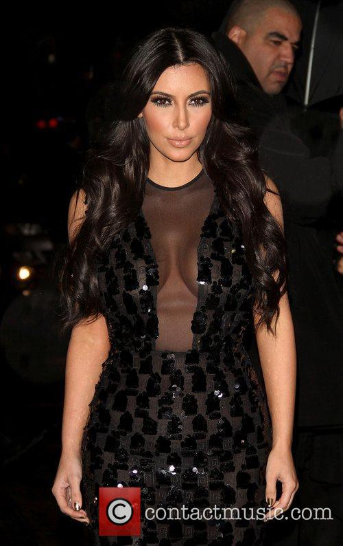 Kim Kardashian and Ed Sullivan 1