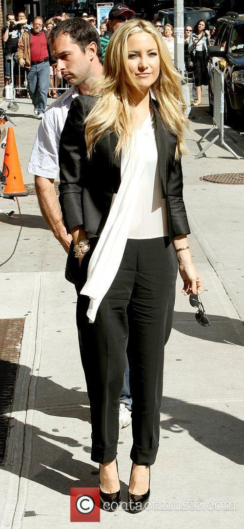 Kate Hudson and David Letterman 8