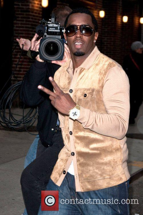 Diddy at The Ed Sullivan Theater for 'The...
