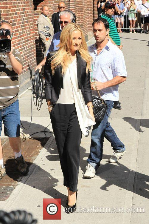 Kate Hudson and David Letterman 10