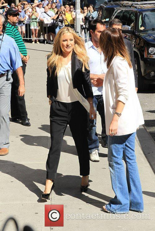 Kate Hudson and David Letterman 11