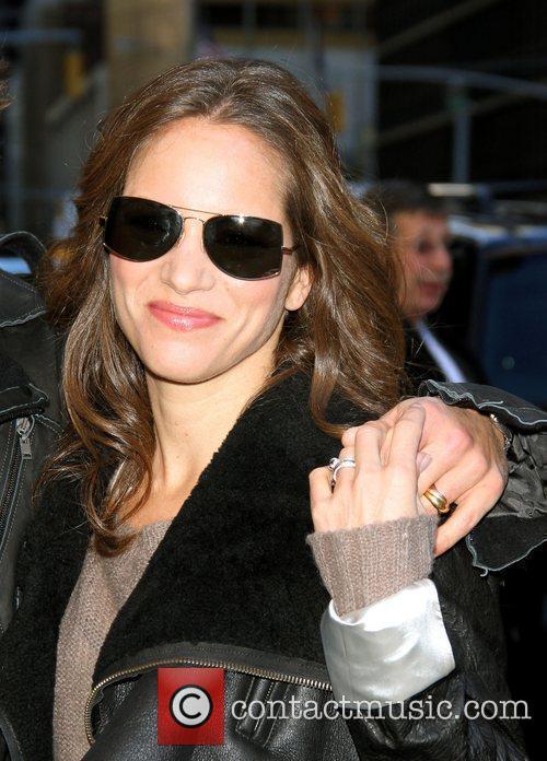 Susan Downey Jr  Celebrities outside The Ed...