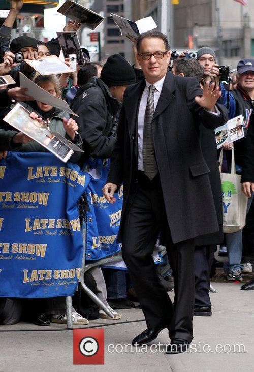 Tom Hanks and David Letterman 7