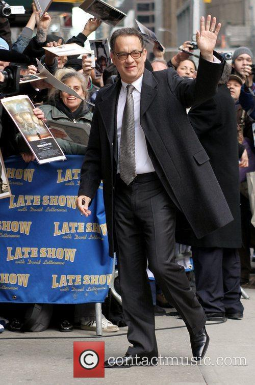 Tom Hanks and David Letterman 6