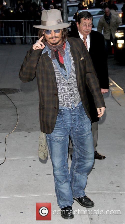 Johnny Depp and Ed Sullivan 12