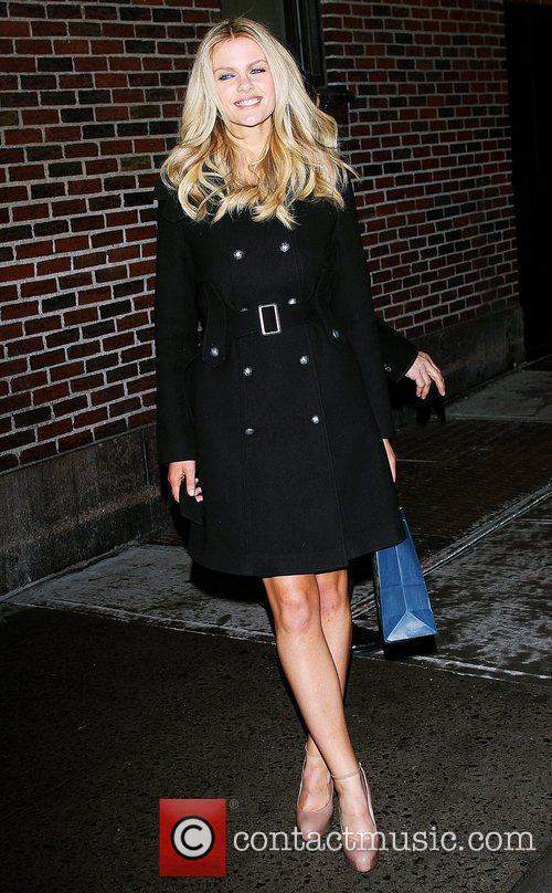 Brooklyn Decker and David Letterman 10
