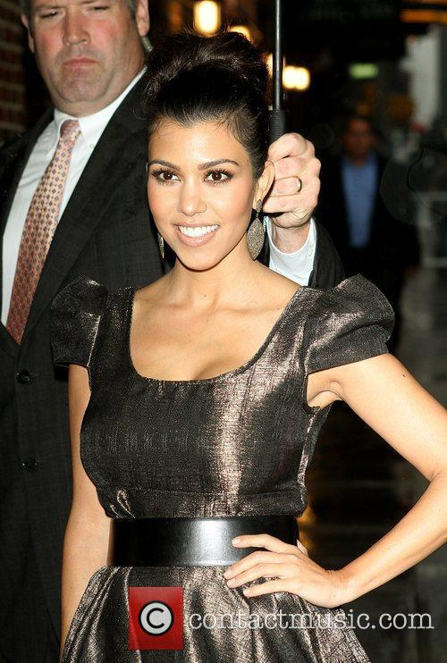 Kourtney Kardashian and David Letterman 1