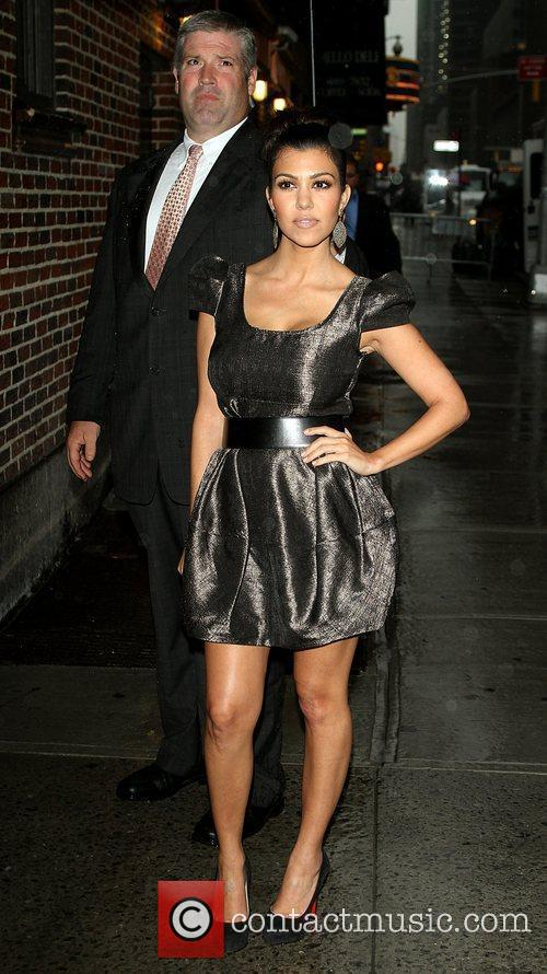 Kourtney Kardashian and David Letterman 2