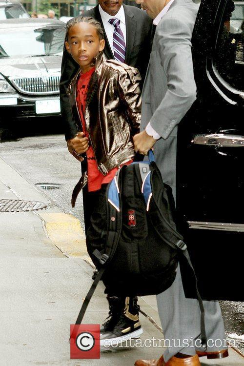Jaden Smith and David Letterman 8