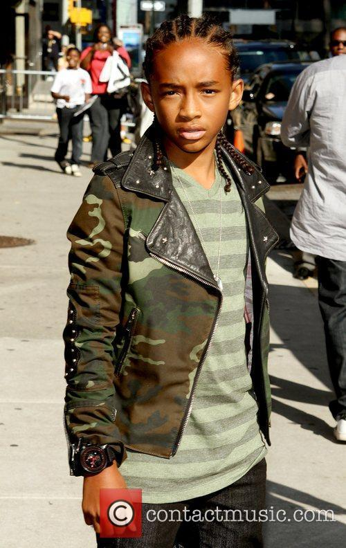Jaden Smith and David Letterman 10
