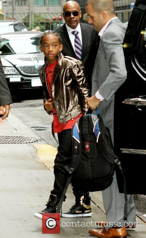 Jaden Smith and David Letterman 6