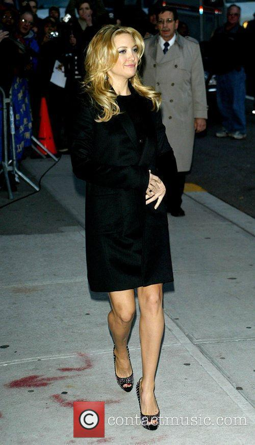 Kate Hudson and David Letterman 4