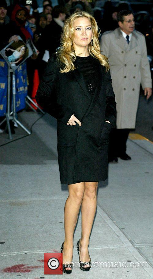 Kate Hudson and David Letterman 5