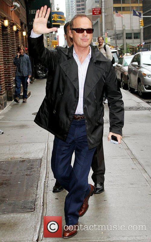 Michael Keaton and David Letterman 5