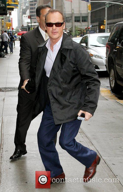 Michael Keaton and David Letterman 3