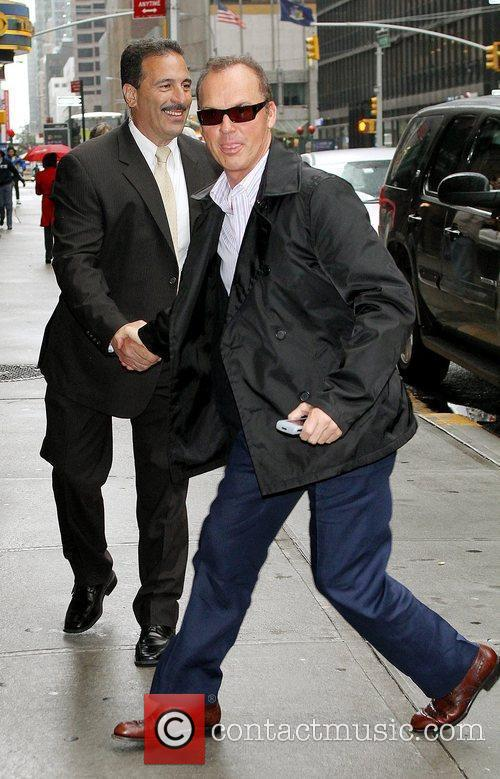 Michael Keaton and David Letterman 8