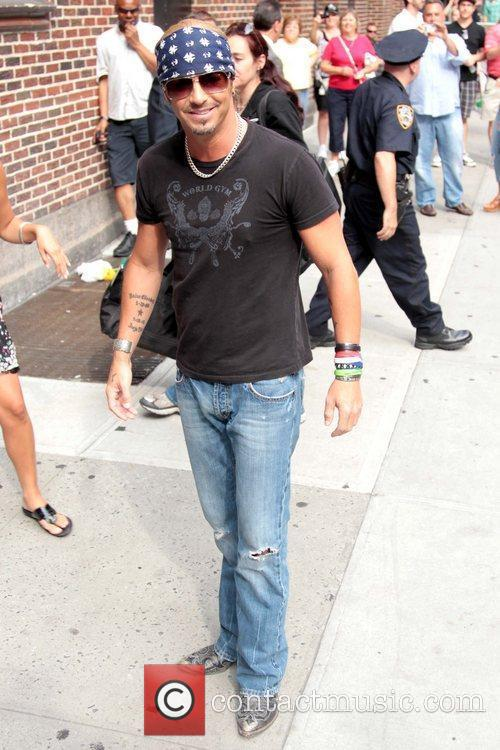 Bret Michaels and David Letterman 11
